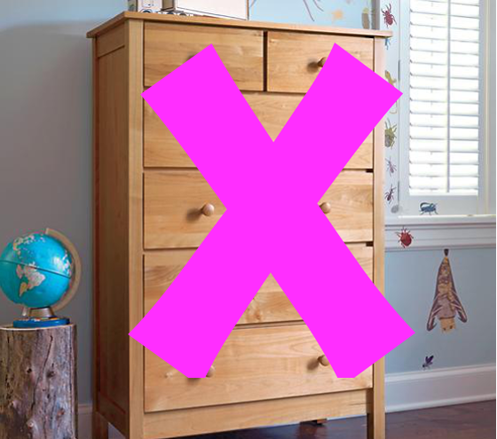 How i organized my kid 39 s clothes with no dresser How to store clothes without a dresser